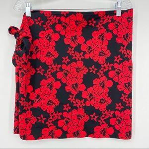 Victoria's Secret Hawaiian Print Swim Wrap Size L
